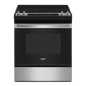 4.8 Cu. Ft. Whirlpool® Electric Range with Frozen Bake™ Technology Product Image