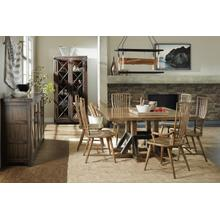 Roslyn County Square Dining Table & 8 Chairs