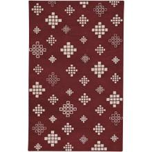 "Glace Garnet Cream - Rectangle - 3'3"" x 5'3"""