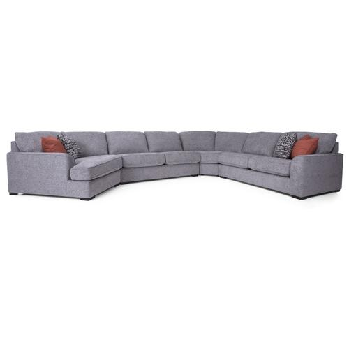 2786-12 Armless Loveseat