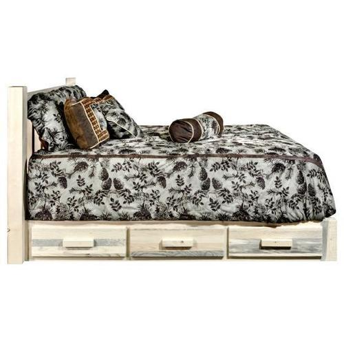Montana Woodworks - Homestead Collection Platform Beds with Storage