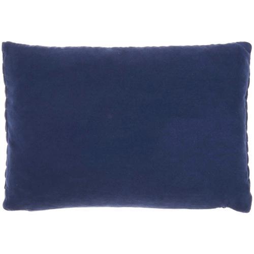 "Life Styles Et299 Navy 14"" X 20"" Throw Pillow"