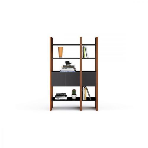 BDI Furniture - Semblance ® 5402-CB in Chocolate Stained Walnut Black