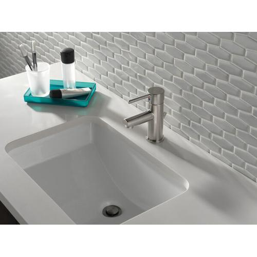 Stainless Single Handle Project-Pack Bathroom Faucet