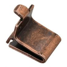 View Product - Antique Copper Single-Track Shelf Clip Builder Pack (1,000 pcs.) - Priced and Sold by the Thousand