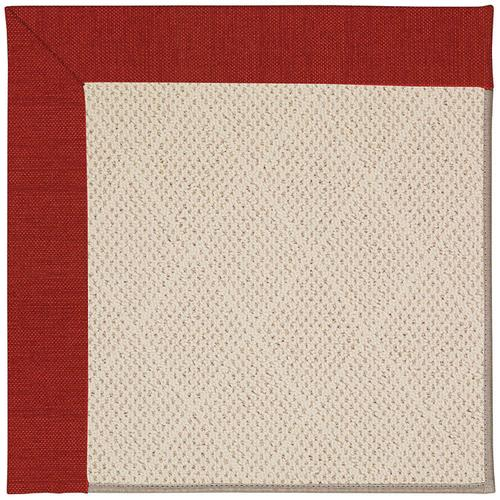 Creative Concepts-White Wicker Canvas Cherry Machine Tufted Rugs