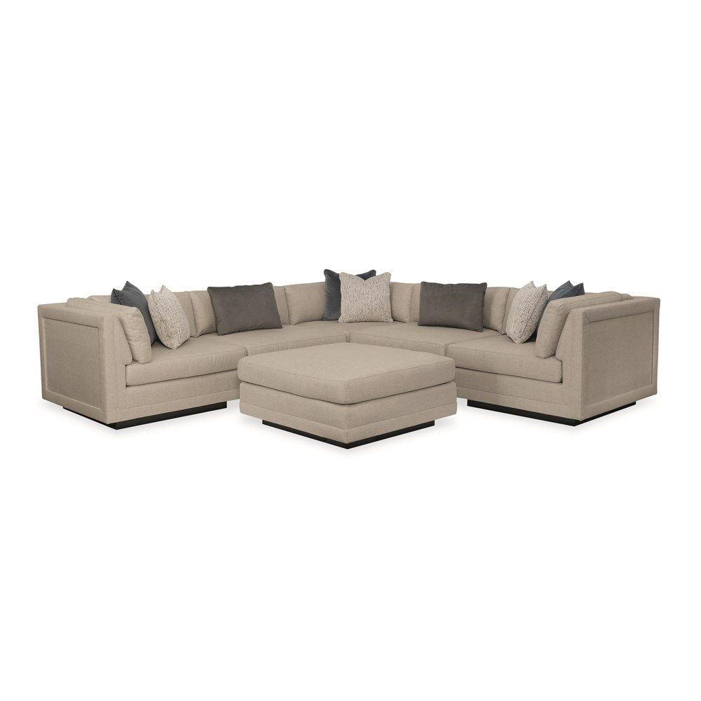 See Details - Fusion 6 Piece Sectional