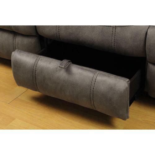Sawyer Transitional Taupe Motion Sofa