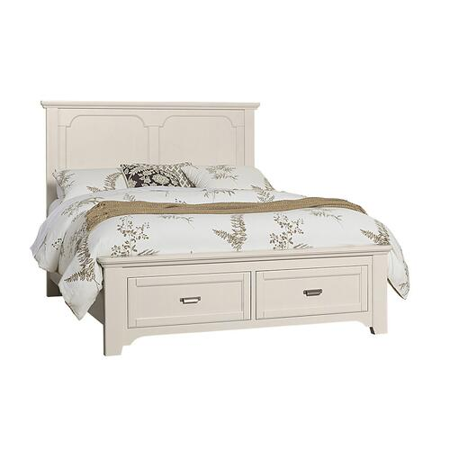 Panel Storage Bed Queen & King