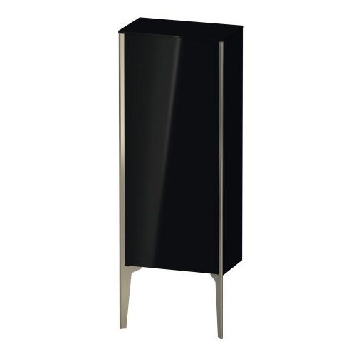 Product Image - Semi-tall Cabinet Floorstanding, Black High Gloss (lacquer)