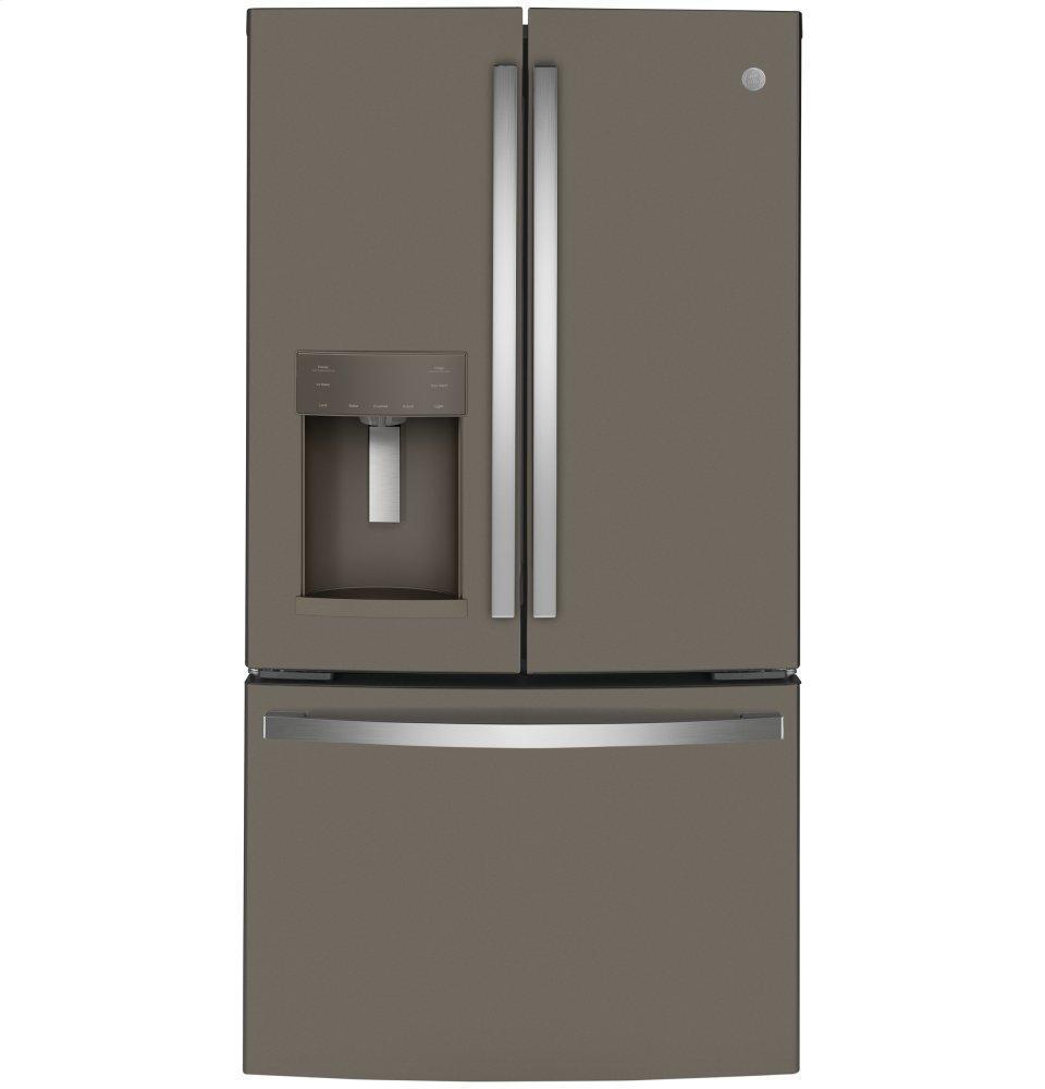 GEEnergy Star® 22.1 Cu. Ft. Counter-Depth French-Door Refrigerator