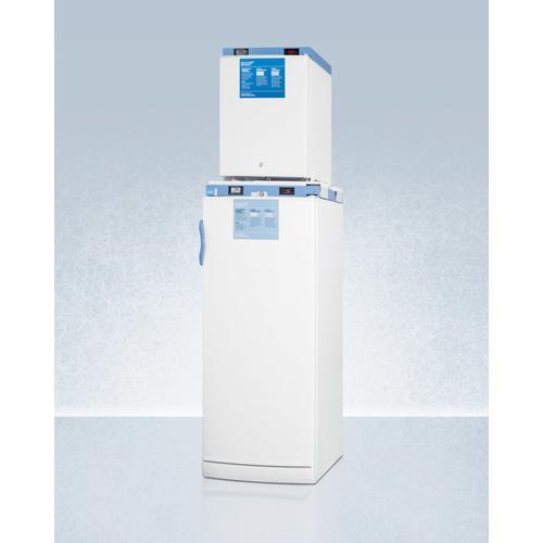"Summit - 24"" Wide All-refrigerator/all-freezer Combination"