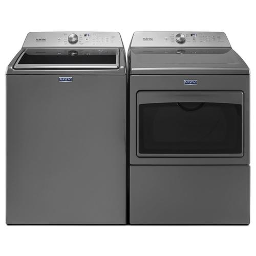 Large Capacity Electric Dryer with IntelliDry® Sensor - 7.4 cu. ft. Metallic Slate