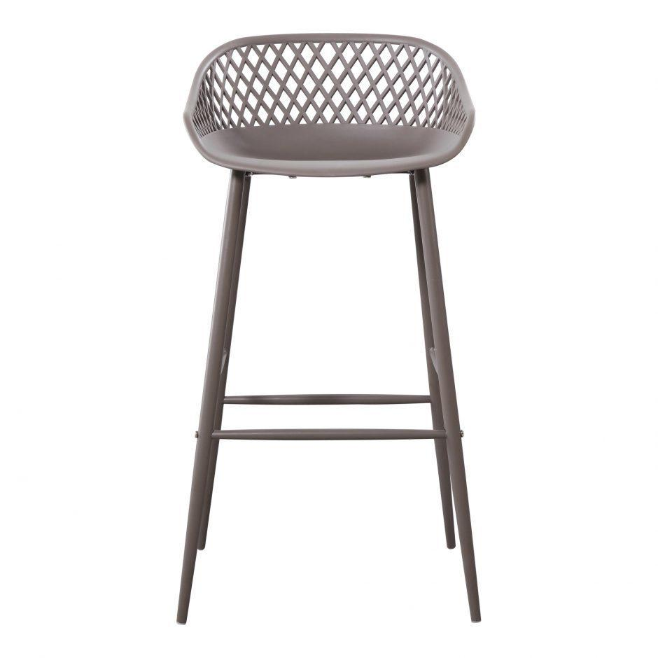 See Details - Piazza Outdoor Barstool Grey-m2