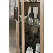 See Details - Miramar Point Reyes Voltaire Display Cabinet