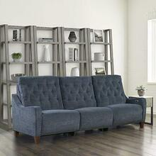 See Details - CHELSEA - WILLOW BLUE Power Triple Reclining Sofa (811LP, 810P, 811RP)