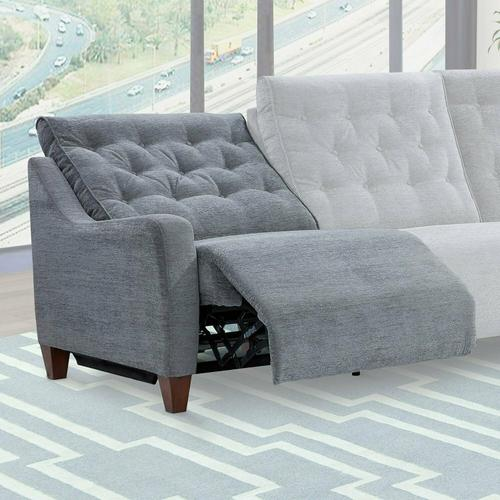CHELSEA - WILLOW GREY Power Left Arm Facing Recliner