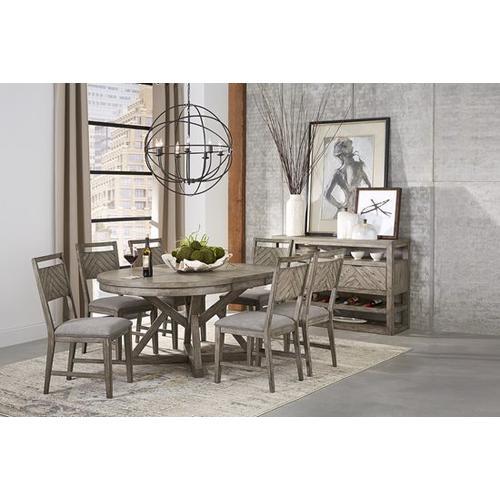 Dining Table - Smokey Oak Finish
