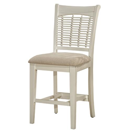 Bayberry Non-swivel Counter Stool - White