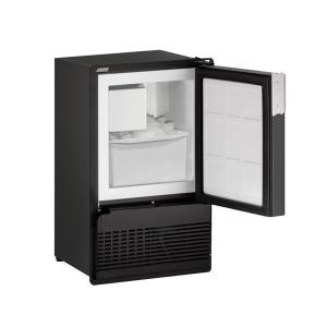 "U-LineBi95fc 14"" Crescent Ice Maker With Black Solid Finish (115 V/60 Hz Volts /60 Hz Hz)"