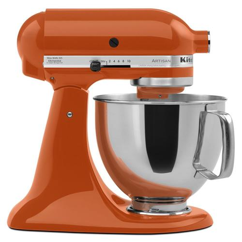 Artisan® Series 5 Quart Tilt-Head Stand Mixer Persimmon
