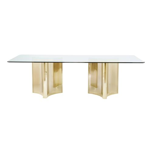 Abbott Metal Dining Table