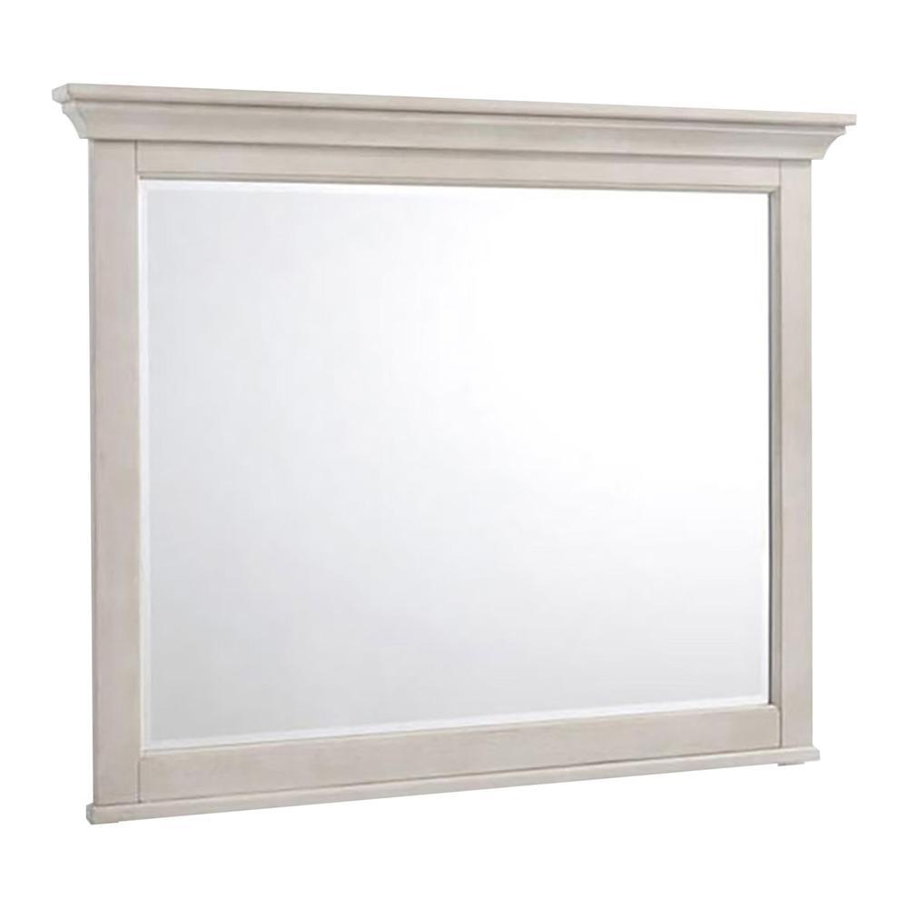 San Mateo Dresser Mirror  White