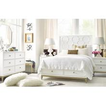 Chelsea by Rachael Ray Panel Bed w/ Storage Footboard Twin