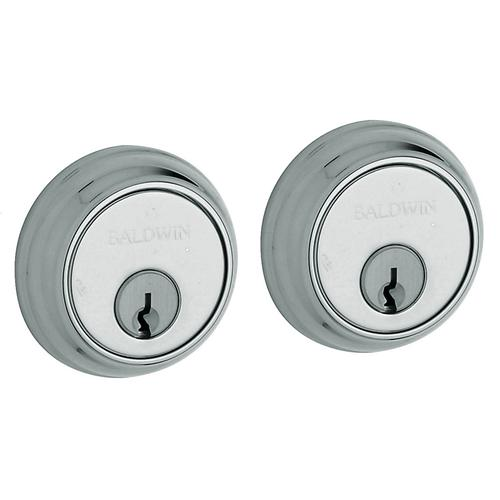 Polished Chrome Traditional Deadbolt