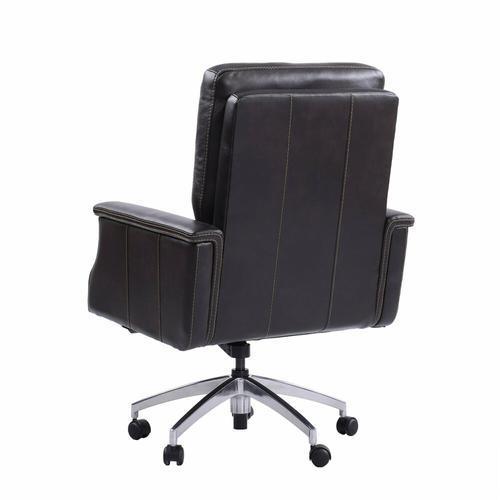 DC#128 Verona Coffee - DESK CHAIR Leather Desk Chair