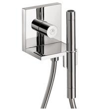 "Chrome Handshower Module Trim 5"" x 5"", 1.75 GPM"
