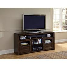 64 Inch Console - Walnut Brown Finish