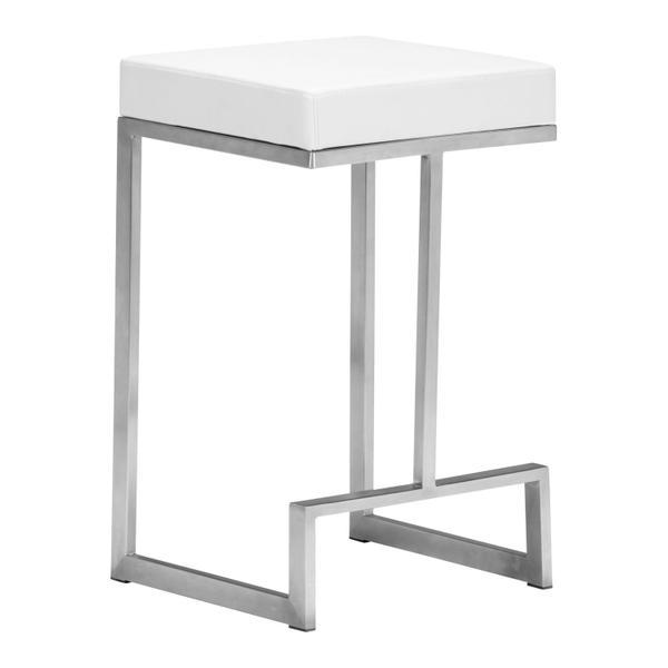 See Details - Darwen Counter Stool White