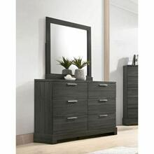 ACME Lantha Mirror - 22034 - Gray Oak