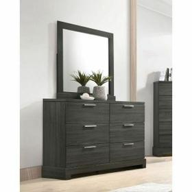 ACME Lantha Mirror - 22034 - Gray Oak