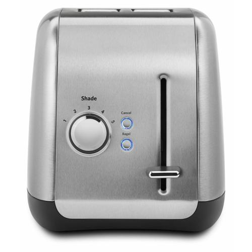 Gallery - 2-Slice Toaster with manual lift lever - Brushed Stainless Steel