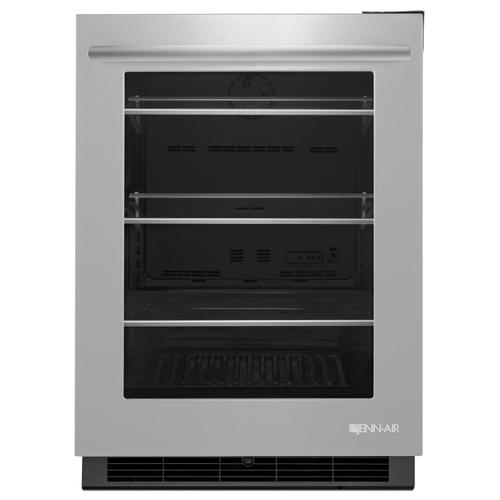 "Euro-Style 24"" Under Counter Refrigerator Stainless Steel"