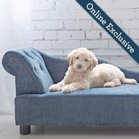 Solana Chaise Lounger, Blue Product Image