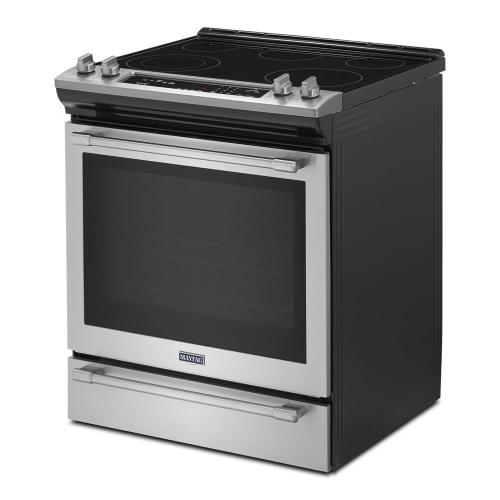 Gallery - 30-Inch Wide Slide-In Electric Range With True Convection And Fit System - 6.4 Cu. Ft.