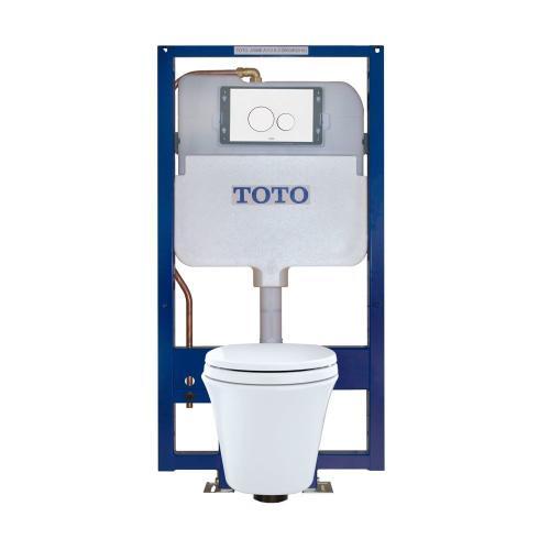 Maris® Wall-Hung Toilet & DUOFIT™ In-Wall Tank System, 1.6 GPF & 0.9 GPF, Elongated Bowl - White