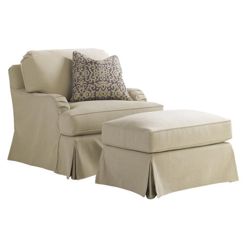 Stowe Slipcover Chair - Khaki