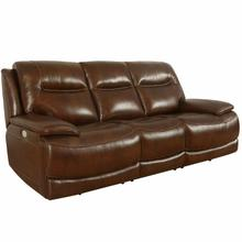 See Details - COLOSSUS - NAPOLI BROWN Power Sofa