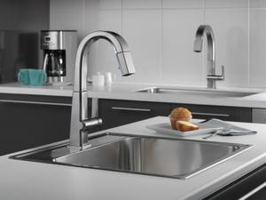Arctic Stainless Single Handle Pull Down Bar/Prep Faucet Product Image