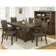 Cannon Valley Dining Height Storage Table With Four Chairs