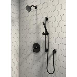 Taos Shower Head with Arm and Flange - Bronze