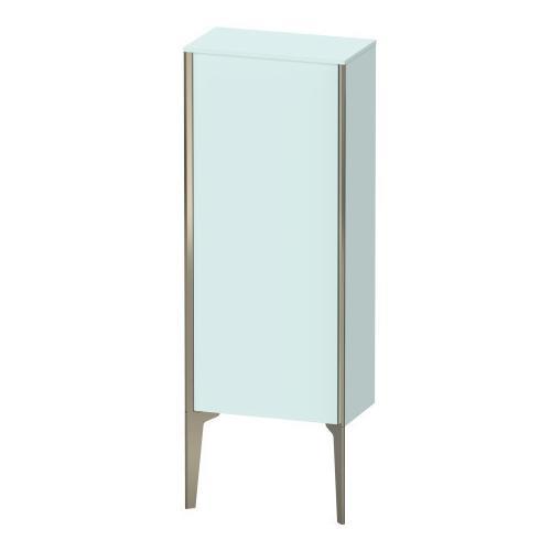 Duravit - Semi-tall Cabinet Floorstanding, Light Blue Matte (decor)