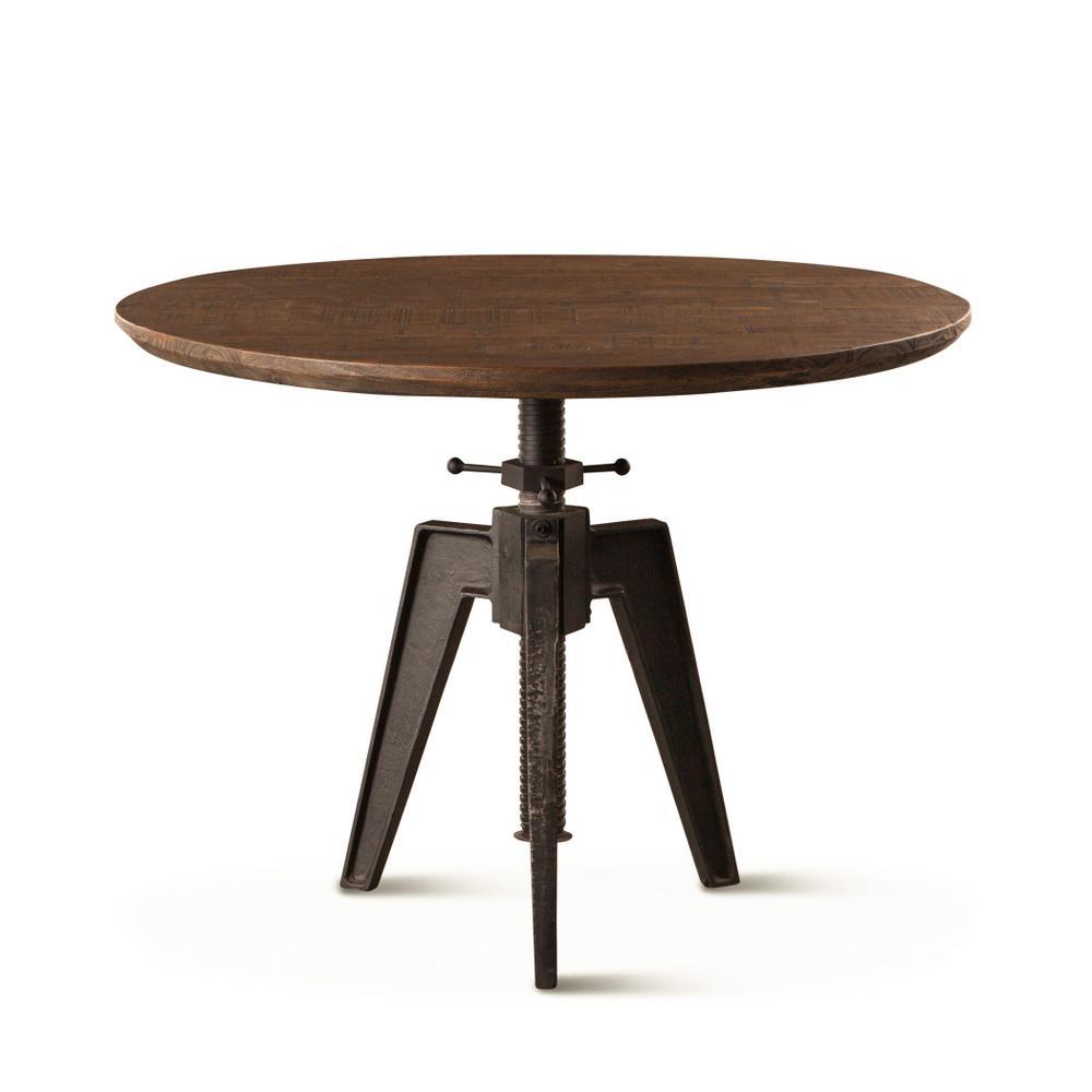 "Carnegie 42"" Adjustable Round Table Bandsaw Teak"