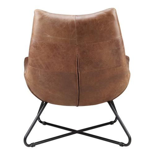 Moe's Home Collection - Graduate Lounge Chair Cappuccino