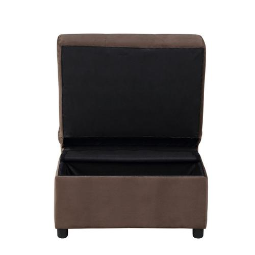 Gallery - Lift Top Storage Bench with Pull-out Bed