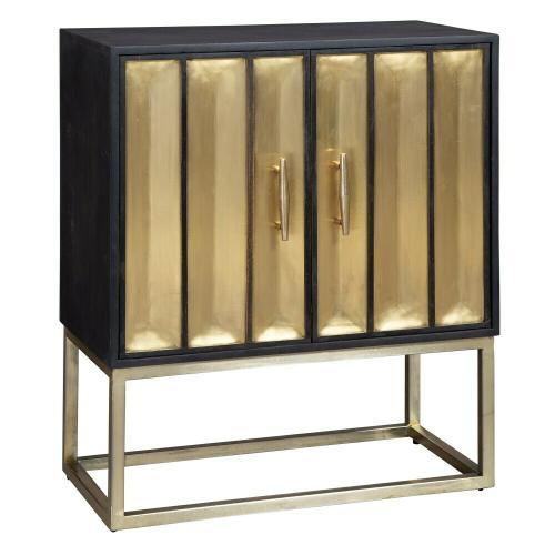 Hekman - 2-8300 Brass Door Cabinet